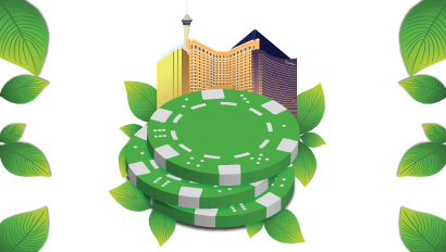 Green Betting Chips | Teplis Travel