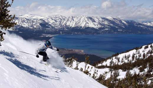 Person Skiing Down Mountain | Teplis Travel