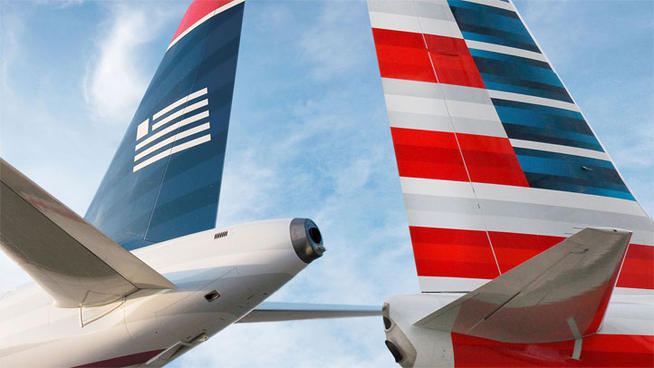 American Airlines and US Airways Planes | Teplis Travel