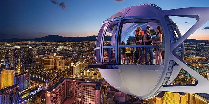 Las Vegas Ferris Wheel | Teplis Travel