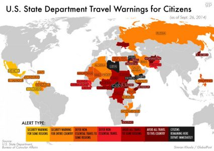 United States Overseas Travel Warnings