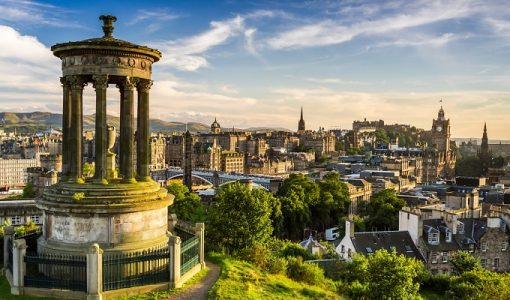 Edinburgh View | Teplis Travel
