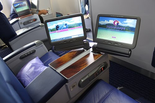 Hawaiian Air Passenger Seat | Teplis Travel