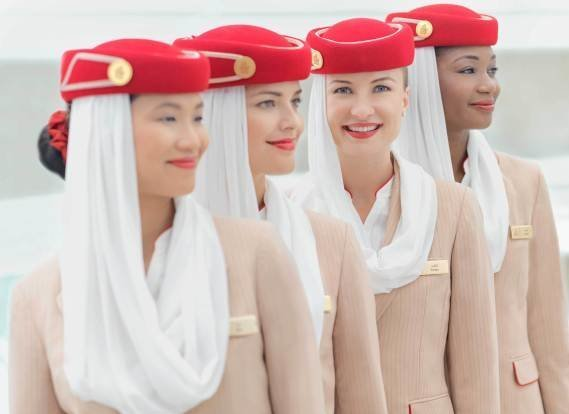 Emirates Flight Attendants | Teplis Travel