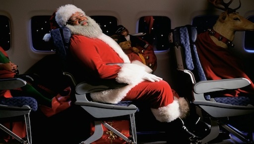 Santa in Airplane | Teplis Travel