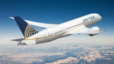 United Airlines Plane | Teplis Travel