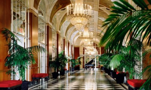 Waldorf Astoria Hotel Interior | Teplis Travel