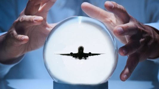 Airplane in Crystal Ball | Teplis Travel