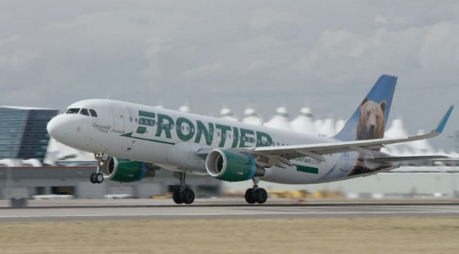 Frontier Airplane | Teplis Travel
