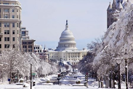 Capitol Hill in Winter | Teplis Travel