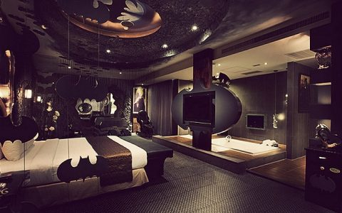 Batman Themed Hotel Suite | Teplis Travel