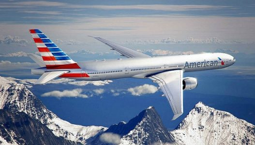 American Airlines Plane | Teplis Travel