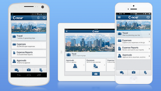 Concur Apps | Teplis Travel