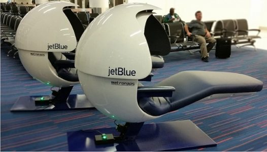 JetBlue Nap Pods | Teplis Travel