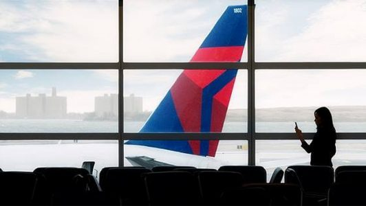 Delta Plane Tail | Teplis Travel