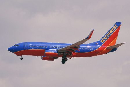 Southwest Airlines Plane | Teplis Travel