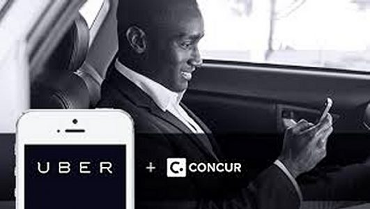 Uber and Concur | Teplis Travel