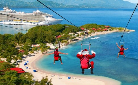 Ziplining at the Beach | Teplis Travel