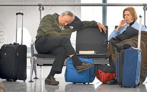 Travelers Waiting at Airport | Teplis Travel