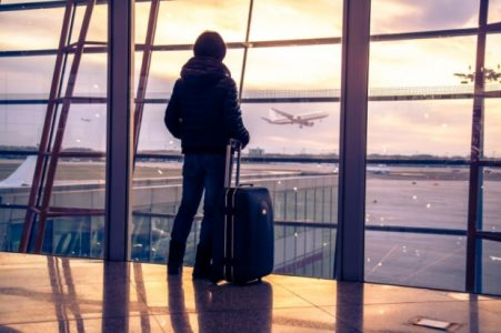 Traveler at the Airport | Teplis Travel