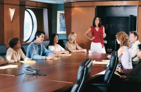 Business People at a Meeting | Teplis Travel