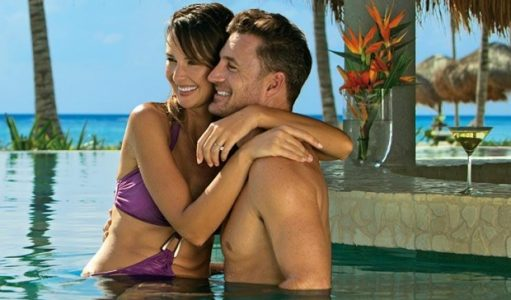 Couple in the Pool | Teplis Travel