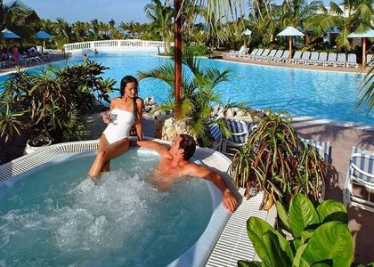 Couple in a Hot Tub | Teplis Travel