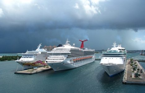 Cruise Ships During Hurricane | Teplis Travel