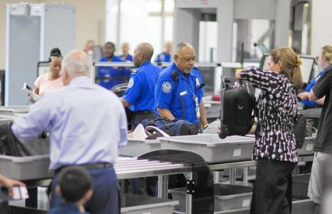 O'Hare Airport Security Line | Teplis Travel