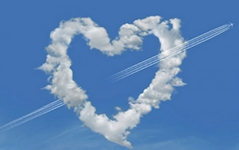 Heart Shaped Clouds | Teplis Travel