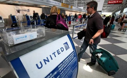 United Airlines Counter | Teplis Travel