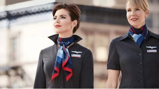 American Airlines Flight Attendants | Teplis Travel