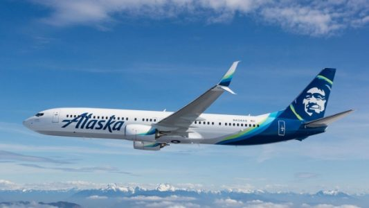 Alaska Airlines Airplane | Teplis Travel