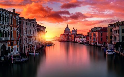 Venice At Sunset | Teplis Travel