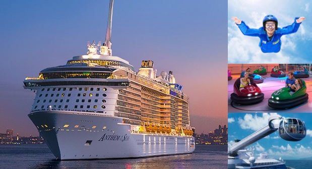 Attractions on Royal Caribbean Cruise | Teplis Travel
