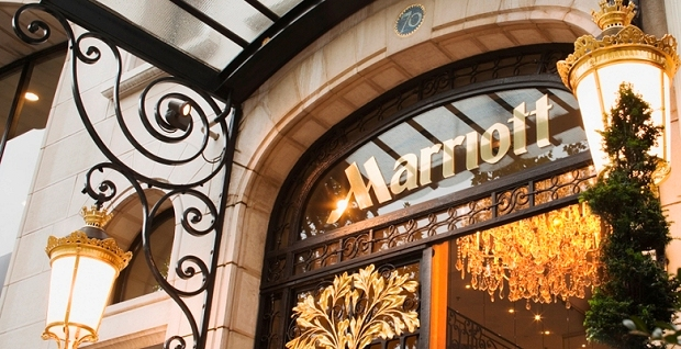 Marriott Hotel Front Sign | Teplis Travel