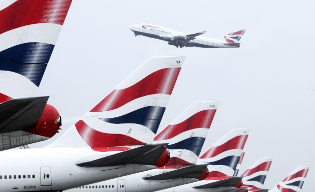 British Airways Airplane Tails | Teplis Travel