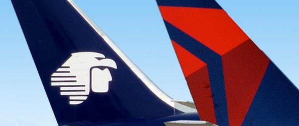 Delta and Aero Logos on Planes | Teplis Travel