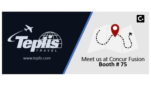 Teplis Travel Concur Booth Ad | Teplis Travel