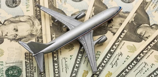Mini Plastic Plane Over Cash | Teplis Travel