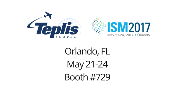 Teplis Travel to Attend ISM 2017 | Teplis Travel