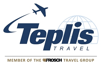Teplis Travel Logo with Frosch Travel Group | Teplis Travel