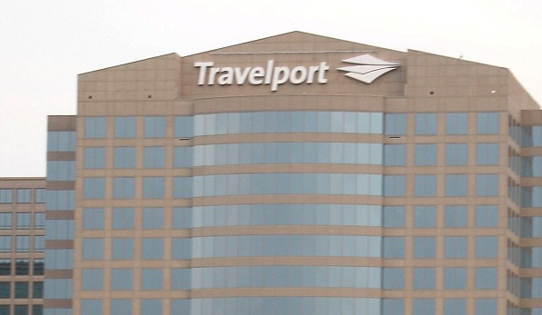 Exterior of Travelport Building | Teplis Travel
