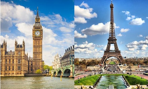 Popular Tourist Spots in London and Paris | Teplis Travel