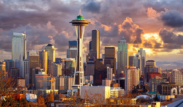 Seattle City Skyline | Teplis Travel