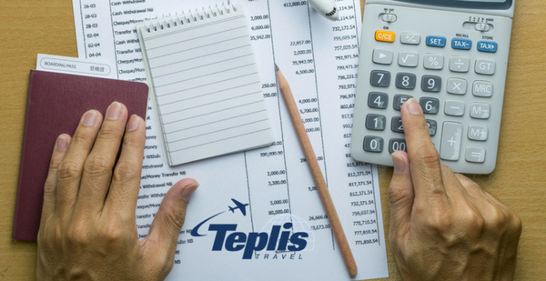 Travel and Expense Management Working on Expense Sheet | Teplis Travel