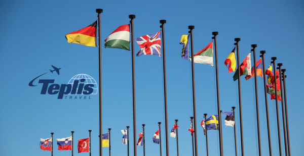 Business Travel Agency International Flags | Teplis Travel