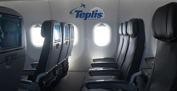 Corporate Travel Agency Airplane Seats
